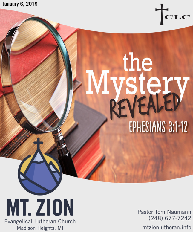 The Mystery of God is Solved in Christ