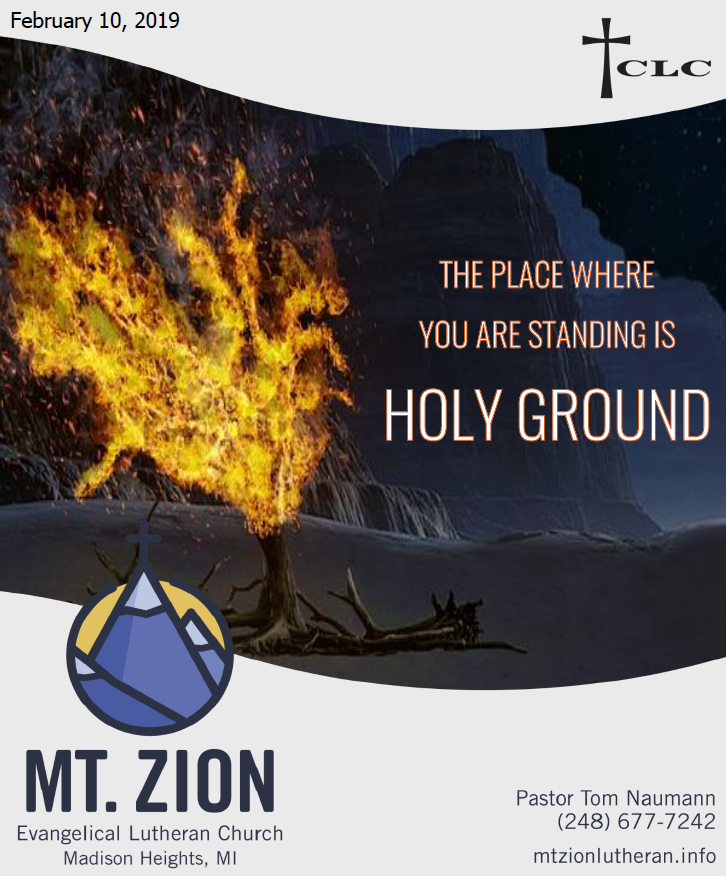 You Stand on Holy Ground