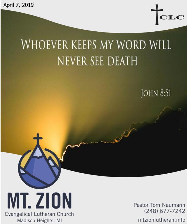 When Jesus Speaks, Christians Listen!