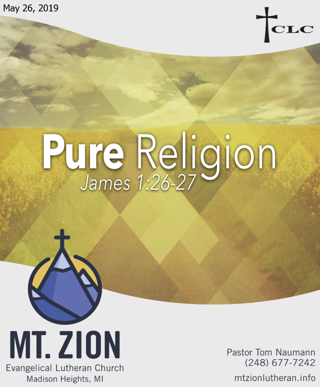 Christians are Welcome to Pure Religion