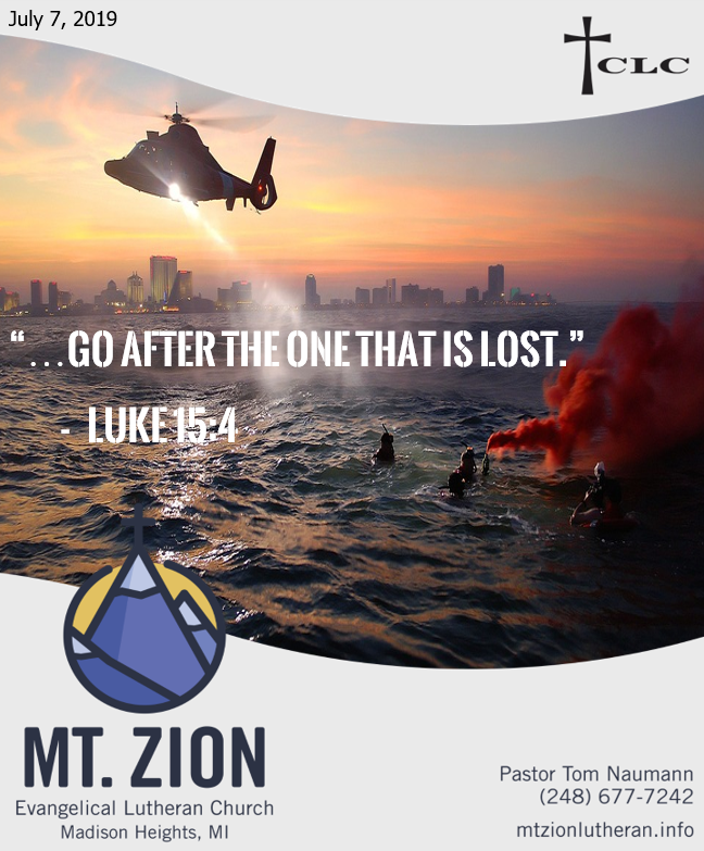 God's Search and Rescue Mission
