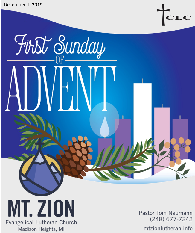 Listen and Learn from Zechariah's Advent Lessons