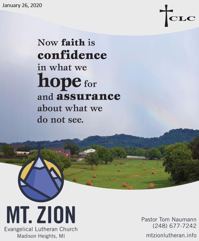 God Gives Us a Proven Faith, Not a Blind Faith